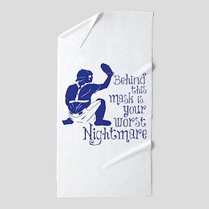 NIGHTMARE Beach Towel