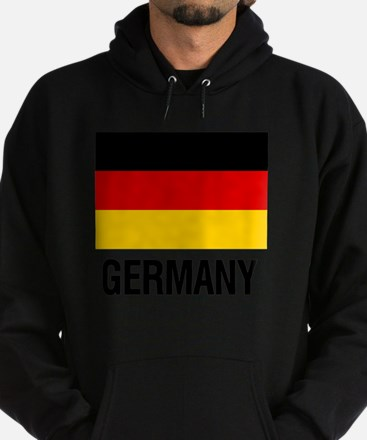 Cute Germany flag Hoodie (dark)