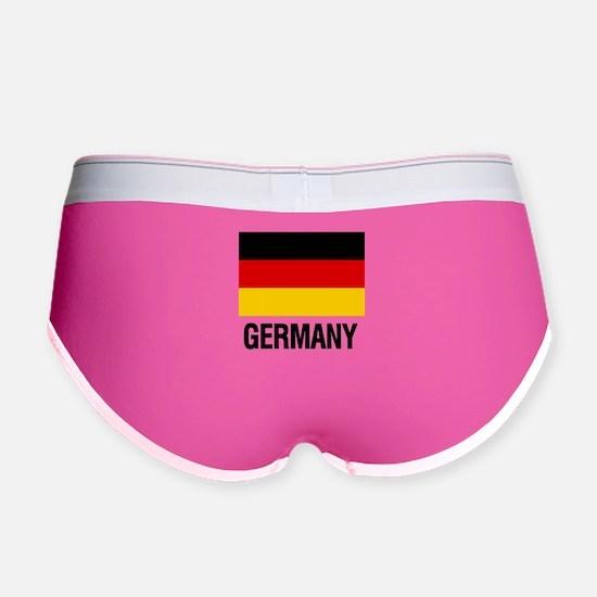 Cute Germany Women's Boy Brief