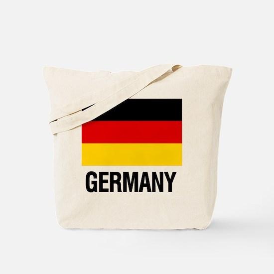 Cute German flags Tote Bag