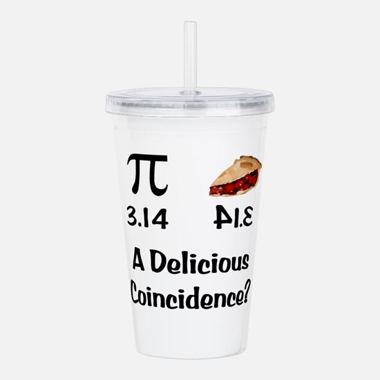 Pi Coincidence Acrylic Double-wall Tumbler