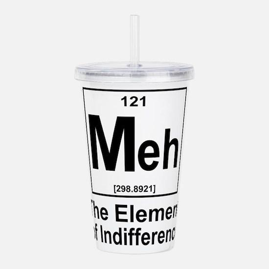 Element Meh Acrylic Double-wall Tumbler