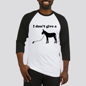 I don't give a rats ass Baseball Jersey