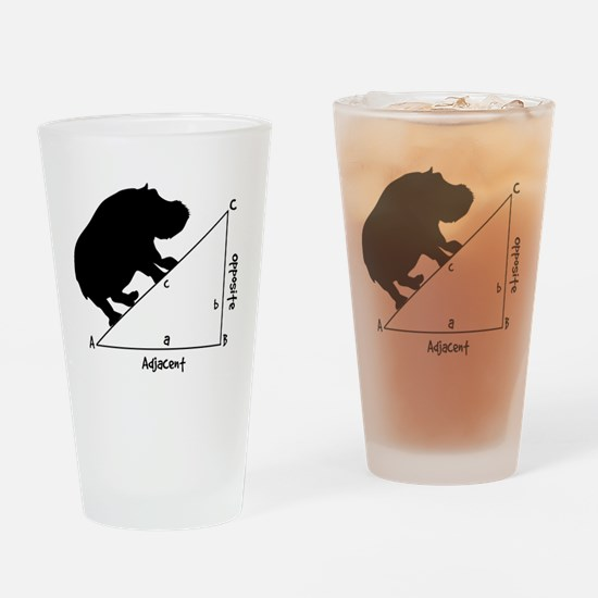 Hippotenuse Drinking Glass