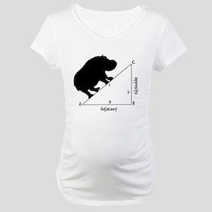 Hippotenuse Maternity T-Shirt