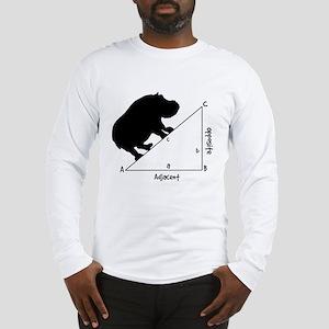 Hippotenuse Long Sleeve T-Shirt