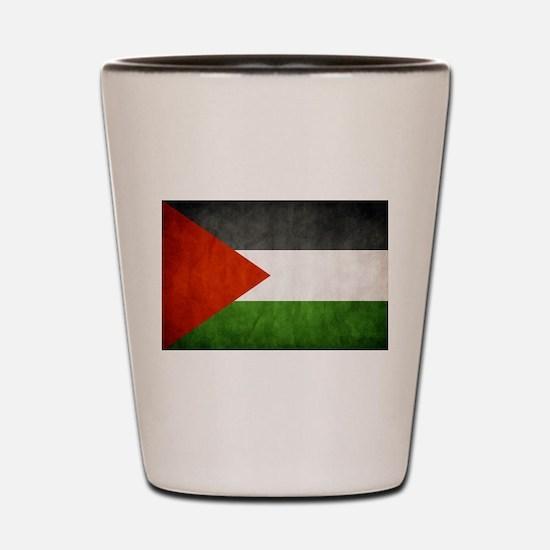 Free palestine Shot Glass