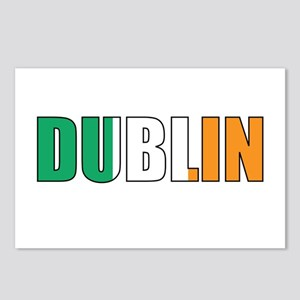 Dublin Postcards (Package of 8)