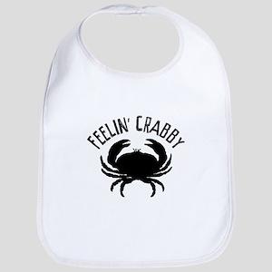 Feelin' crabby Bib