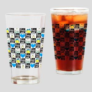 BRIDESMAID LUV Drinking Glass
