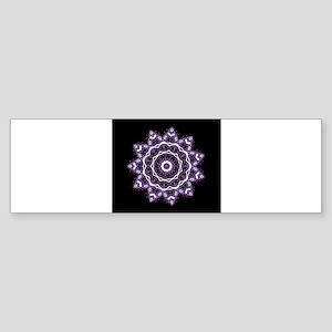 Mandala Style Bumper Sticker