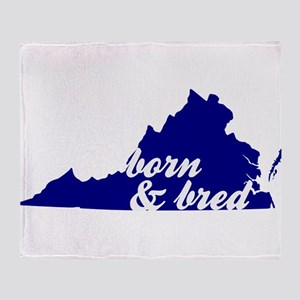 Born & Bred Throw Blanket