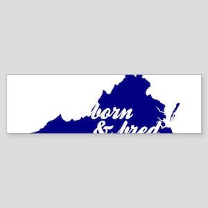 Born & Bred Sticker (Bumper)