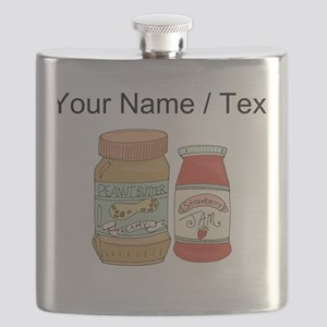 Custom Peanut Butter And Jam Flask