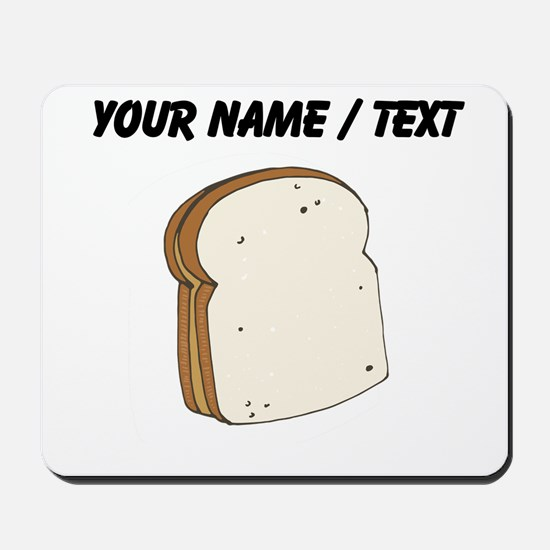 Custom Peanut Butter Sandwich Mousepad