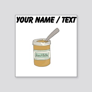 Custom Peanut Butter Jar Sticker