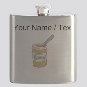 Custom Peanut Butter Jar Flask