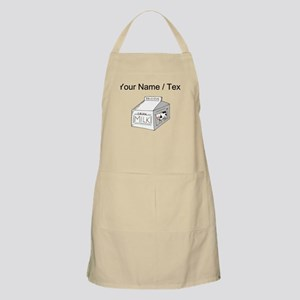 Custom Milk Carton Apron