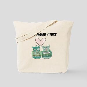 Custom Love Birds Tote Bag
