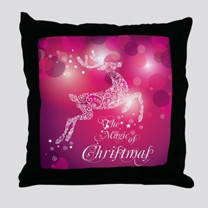 The Magic Of Christmas Throw Pillow