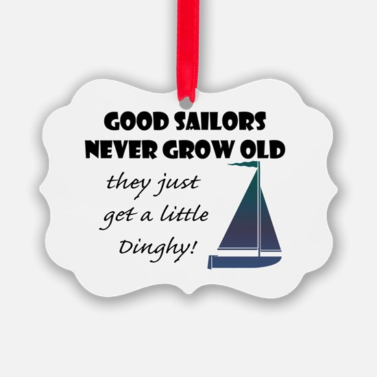 Good Sailors Never Grow Old, They Ornament
