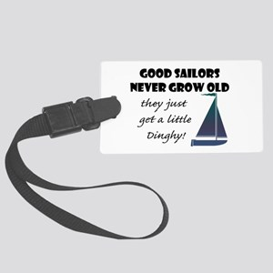 Good Sailors Never Grow Old, Large Luggage Tag