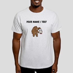 Custom Bear With Lantern T-Shirt