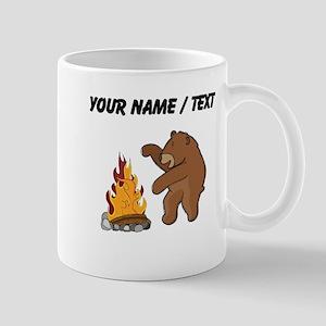 Custom Camp Fire Bear Mugs