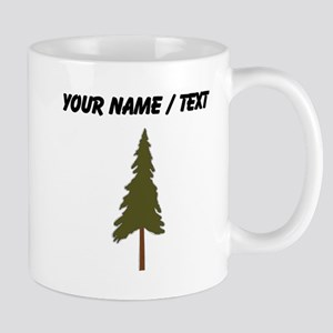 Custom Green Tree Mugs