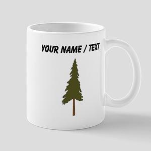 Custom Green Tree Mugs