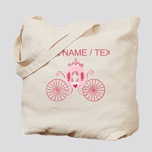 Custom Princess Carriage Tote Bag