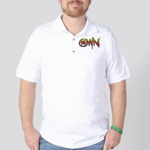 One Warrior Nation Vintage Logo Golf Shirt