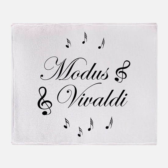 Cute Vivaldi Throw Blanket