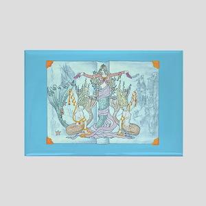 mermaid tales Magnets