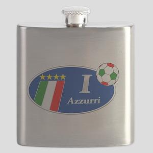 I Love Azzurri Flask