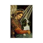 Madonna & Tri Cavalier Rectangle Magnet