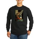 Madonna & Tri Cavalier Long Sleeve Dark T-Shirt