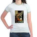 Madonna & Tri Cavalier Jr. Ringer T-Shirt