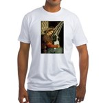 Madonna & Tri Cavalier Fitted T-Shirt