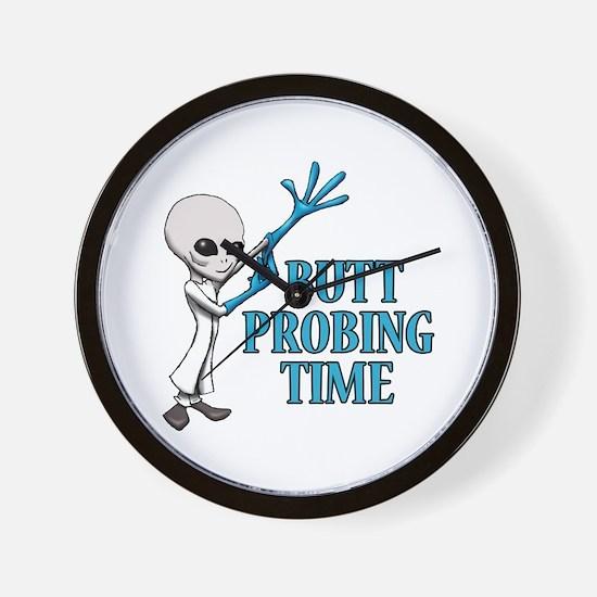 BUTT PROBING TIME Wall Clock