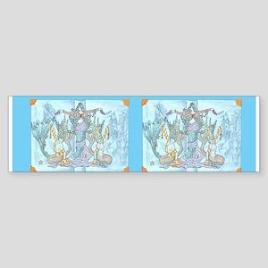mermaid tales Bumper Sticker