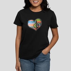 Original Music Heart Treble Clef Ar T-Shirt