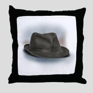 Hat for Leonard 2 Throw Pillow