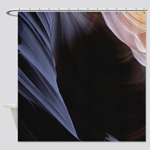 Flashes Of Light Shower Curtain