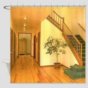 Hallway & Stairs Shower Curtain