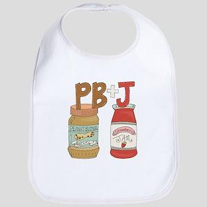 Peanut Butter And Jam Bib