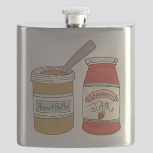 Peanut Butter And Jam Flask