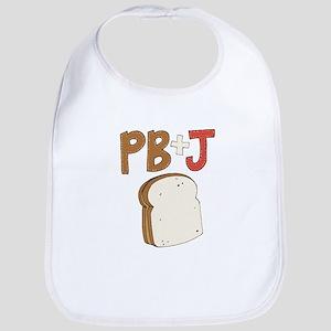 PB and J Sandwich Bib