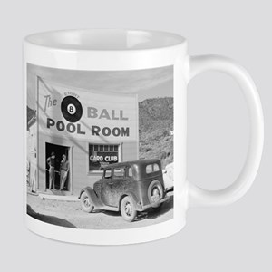 The Eight Ball Pool Room, 1940 Mugs