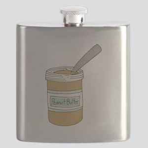 Peanut Butter Jar Flask